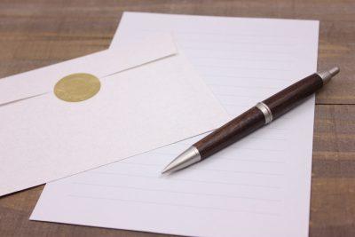 お悔やみの手紙