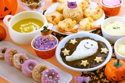 お菓子パーティー&カボチャ料理
