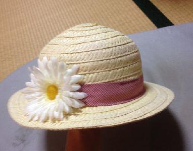 復活した麦わら帽子