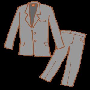 スーツ着用