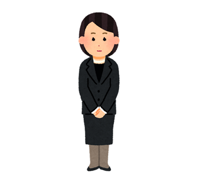 女性の平服(葬儀)