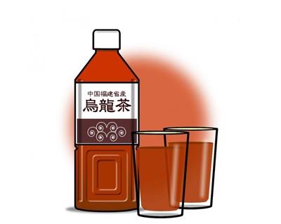ペットボトルのお茶