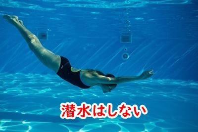 潜水はしない