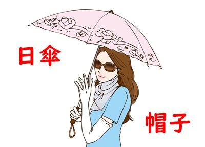 帽子・日傘